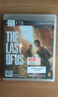 Brand New The Last Of Us PS3
