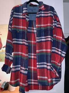 Fave vintage baggy flannel