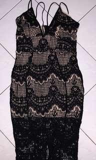 MISSGUIDED Sexy Midi Dress