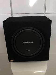 12 inch Rockford Fosgate Prime R1 Subwoofer With Customised Sealed Box