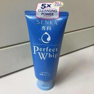 Senka Perfect Whip Cleansing Foam (120g)