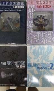 中古final fantasy creatures Vol.1 -4 及 Archive 召喚獸全套連特別版共54隻