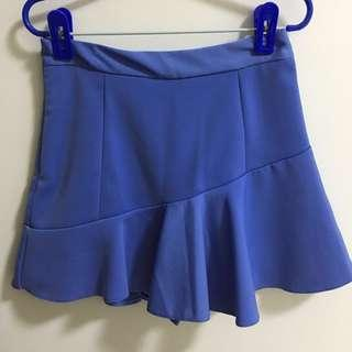 Blue Mermaid Skorts