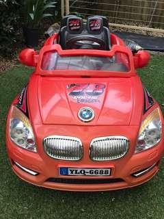 Electric toy car - BMW