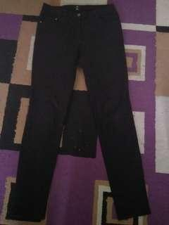Jeans Hitam H&M Original Ukuran 31-32