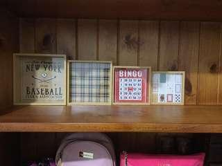 TYPO Vintage style home decor Frames