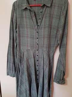 Zara long sleeve tunic dress