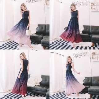 [PO]Ombre Maxi Dress