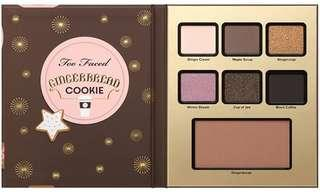 NOVEMBER SALE! Too Faced Gingerbread Cookie palette