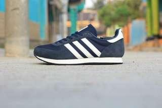 Adidas ZX racer blue stripes white. . Type : casual . size : 36-40 . Condition :ORIGINALS BNWB (BRAND  NEW WITHOUT BOX)