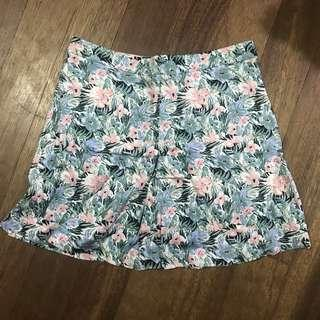 Floral skirt (shorts inside)