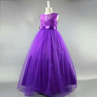 Elegant dress gown for 6 to 7yrs old