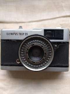 Vintage Camera - Olympus Trip 35