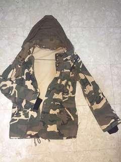 Army Jacket w/ Hood