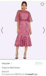 WANTED Talulah Caprice dress in 12 or 14