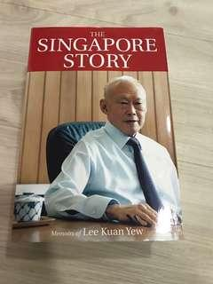 """The Singapore Story Memoirs of Lee Kuan Yew"" Book"