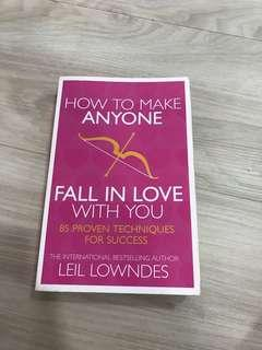 "BN ""How to make anyone fall in love with you"" Book by Leil Lowndes International Best Selling Author"