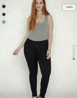 Plus size jonie jeans