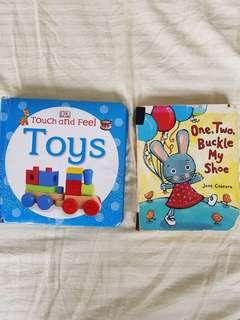 Baby bundle: Dk baby book touch and feel