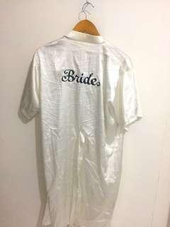Bride Bathrobe