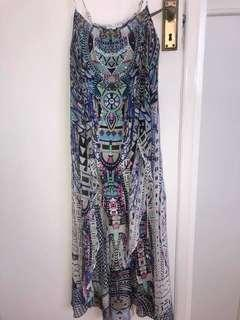 Camilla Maasai Moshi Dress with overlay