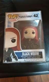 Funko pop captain america the winter soldier Black widow