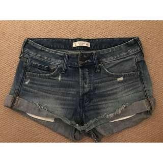 Abercrombie & Fitch Denim Shorts Size 26