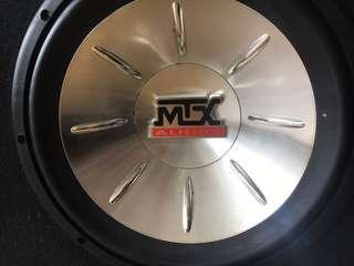 "MTX 12"" Subwoofer"