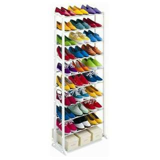 10 tier level shoe rack
