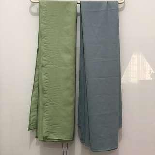 ♥️ Farahshawls Tudung Bawal Bidang 45 Square Scarf scarves Hanami