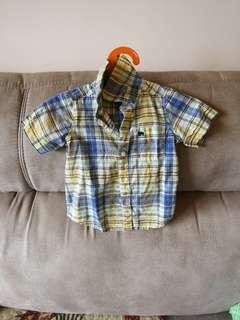 Carter's baby boy short sleeves shirt