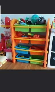 Kids storage shelving or wardrobe