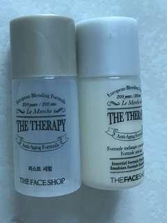 The face shop the therapy sample