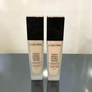 Brand New Lancôme Teint Idole Ultra Wear Foundation (Shades #011 & #021)