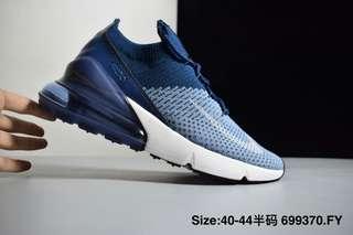 b036603a5de30 Nike Air Max 270 Flyknit Navy
