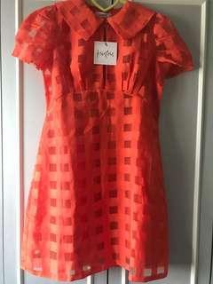 KSisters Honey Dress In Orange