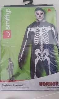 Skeleton Jumpsuit perfect for Halloween
