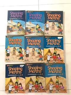 P4 P5 and P6 shaping maths