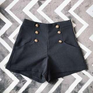 Dotti Navy Shorts