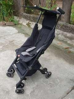 GB Pockit Plus Stroller Black