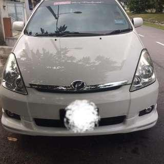 Toyota Wish 1.8cc Singapore Scrap