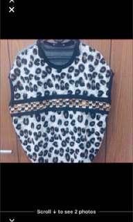 Blus Zara size S besar
