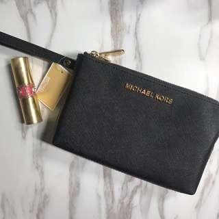 🚚 全新✨MK包 半價優惠 手拿包 零錢包 皮夾 護照 雙層 保證正品
