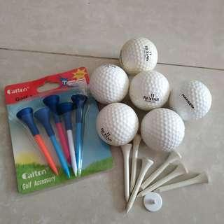Golf Tee Balls Marker