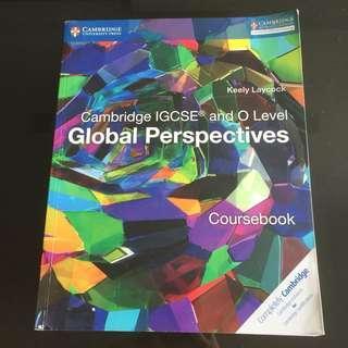 Cambridge IGCSE Global Perspective