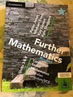 Cambridge Units 3/4 Further maths textbook