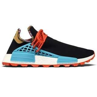 💯[PREORDER] Adidas NMD Hu Pharrell Inspiration Pack Black