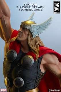 Sideshow Collectibles: Thor Statue Exclusive Version (Avengers Assemble) *MISB*