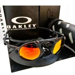 9020ab8d44 BNIB Authentic Oakley Madman OO6019-04 Ruby Iridium