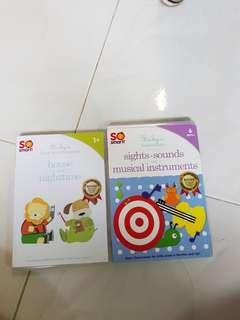 Baby DVD music songs CD audio words sights sounds instrument toddler baby educational